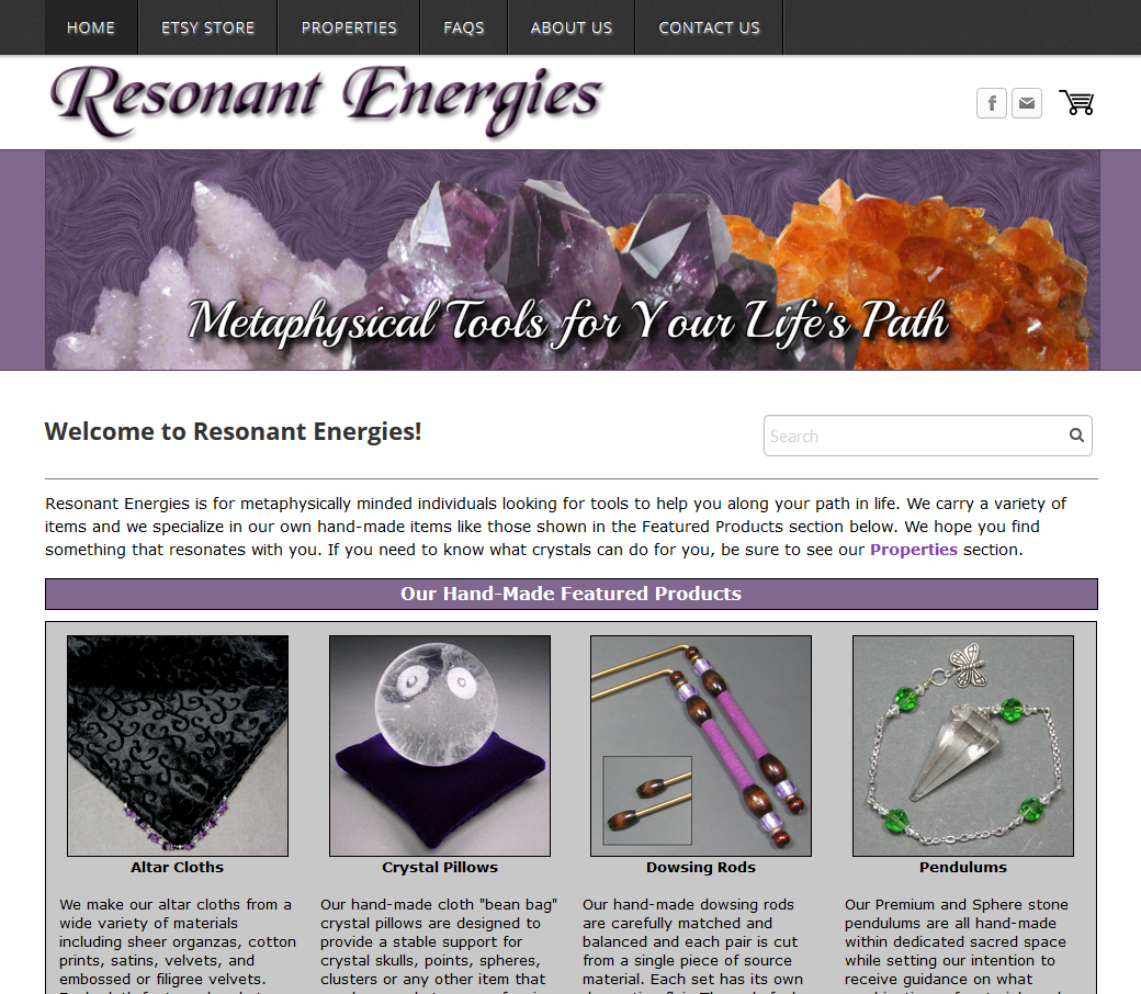 Click to visit the Resonant Energies website
